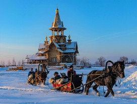 Winter Active Fun in Siberia
