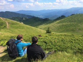 Hiking in Eastern Carpathians, Romania