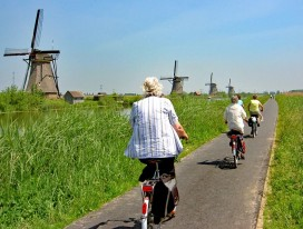 Cycling Along Dutch Water Landscapes