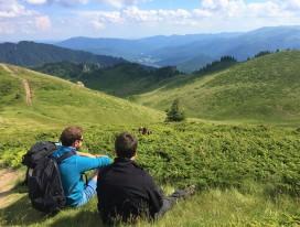 Hiking in Eastern Carpathians, Romania