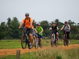 Angkor Family Cycling Fun