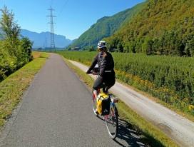 Riding through Sensual South Tyrol
